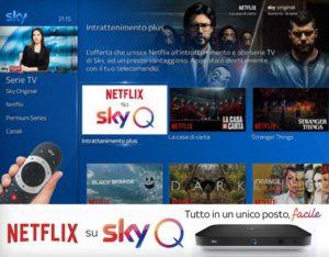 Abbonati a SkyQ Platinum 4K mini per vedere sky in altre stanze